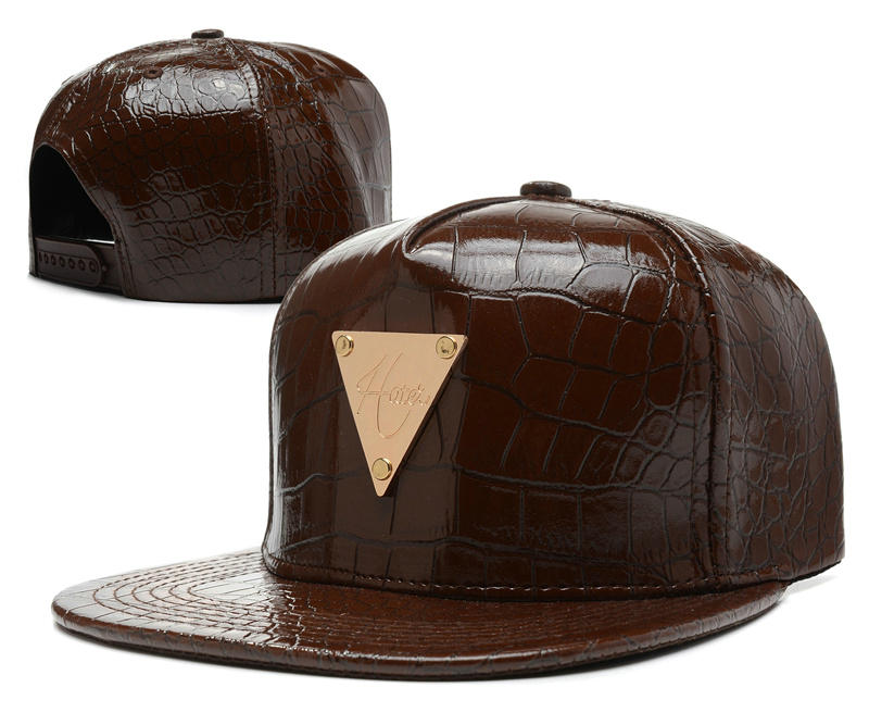 HATER Brown Snapback Hat SD